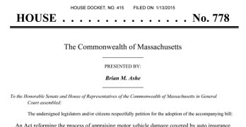 Bill to Abolish Massachusetts Appraiser Licensing Board Scheduled for Hearing Tomorrow