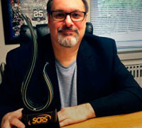 Thomas Greco Awarded SCRS Lifetime Achievement Award