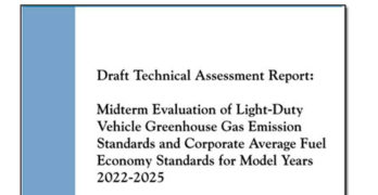 EPA, DOT and California Air Resources Board Release Assessment of 2022-2025 Fuel Economy Standards