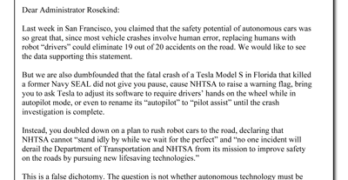 Auto Safety Advocates Call for Testing of Autonomous Vehicle Technology