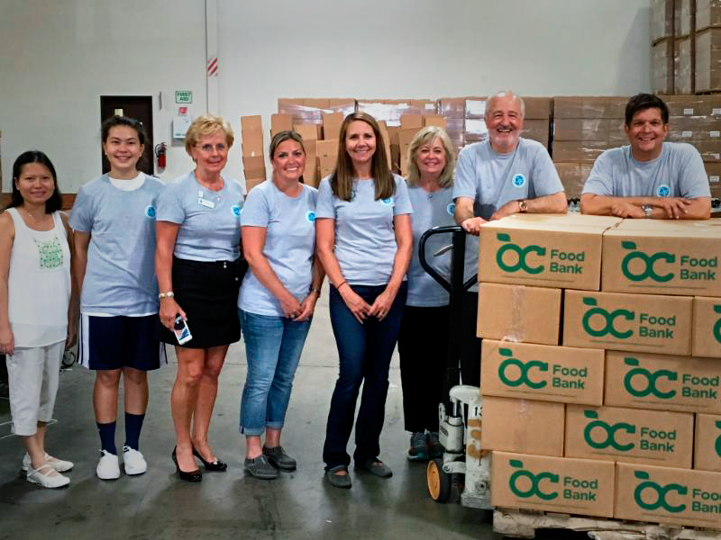 Collision Industry Foundation OC Food Bank