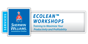 Sherwin-Williams EcoLean Workshop logo