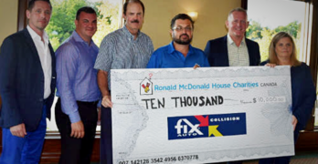 Fix Auto Canada Raises $10,000 for Ronald McDonald House Charities Canada