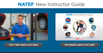 NATEF Introduces Guide for Technicians Interested in Becoming Automotive Instructors