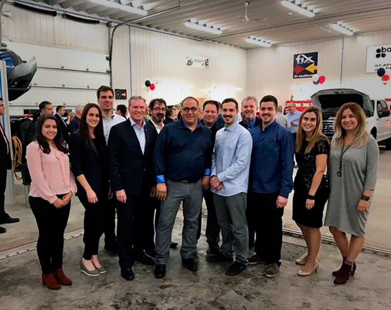 Fix Auto Canada celebrates collision repair facility opening