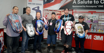 3M Raises Nearly $4,000 for the Collision Repair Education Foundation and the 3M Hire Our Heroes Program at SEMA