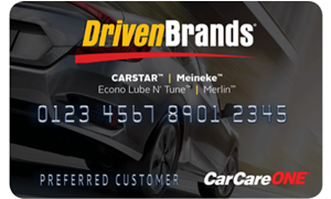 CARSTAR Offers Special Financing for Customers with New Credit Card