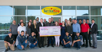 Service King Raises More Than $190,000 for National Breast Cancer Foundation