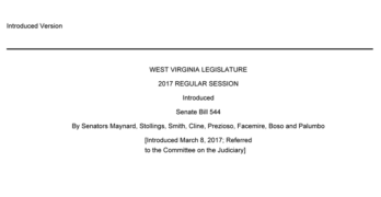 West Virginia Bill Seeks to Eliminate Consumer Consent on Collision Repair Parts