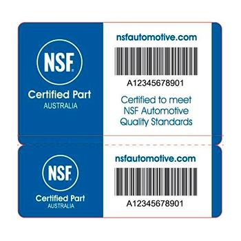 NSF Australia Label