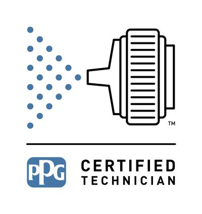 PPG Certified Technician logo