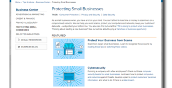 New FTC Website Helps Small Businesses Avoid Scams and Cyber Attacks