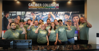 Caliber Collision Opens 500th Location