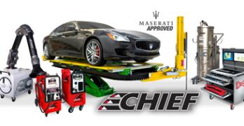 Maserati Approves Chief Collision Repair Equipment