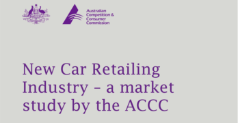 Australia Competition Commission Recommends Mandatory OEM Technical Information Access Regulations, Eliminate Parts Sales Restrictions