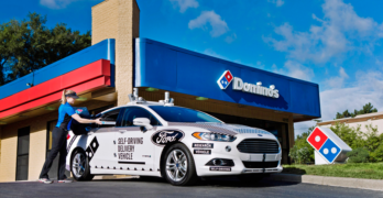 Domino's and Ford to Test Pizza Delivery Using Self-Driving Vehicles