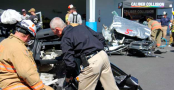 NABC's Program Provides Firefighters with Crash Course on How to Cut Up Complex Vehicles