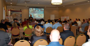 The Refinish Distributors Alliance October meeting, held in Nashville, Tenn. had record attendance.