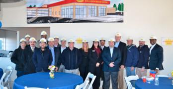 Service King Hosts Tour of New Georgia Collision Repair Center