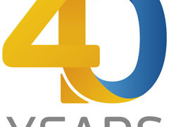 Akzo Acoat selected 40th anniversary logo
