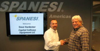 Spanesi Americas Announces Capital Collision Equipment as New Distributor