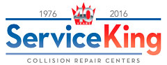 Service King 40th Anniversary logo