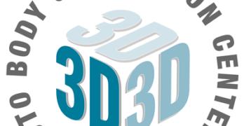 3D Auto Body logo