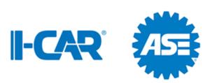 I-CAR and ASE logos