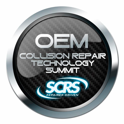 SCRS OEM Collision Repair Technology Summit logo