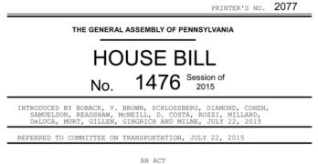 PA House Bill 1476