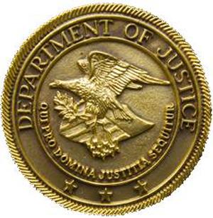 US DOJ seal