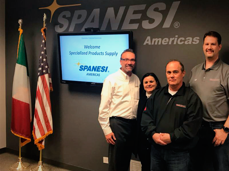 Spanesi Americas Welcomes Specialized Products Supply