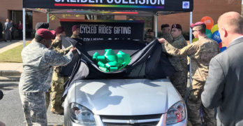 Nine Transitioning Soldiers Graduate from Caliber Collision's Changing Lanes Program