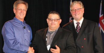 Joe Laurentino Receives I-CAR Founder's Award