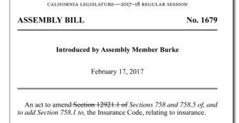 California Assembly Insurance Committee Approves Bill that Overturn New Anti-Steering and Labor Rate Regulations