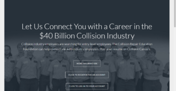 Collision Repair Education Foundation Student Resume Database Accepting Submissions