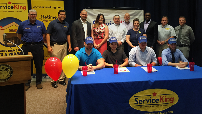 Service King Apprentice Signing Ceremony