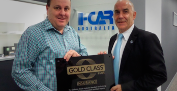 I-CAR Australia Announces Suncorp Insurance Achieves Gold Class
