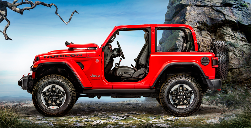 fca announces 2018 jeep wrangler includes aluminum body panels collisionweek. Black Bedroom Furniture Sets. Home Design Ideas