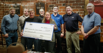 Indiana Autobody Association Donates to Hoosier Hills Career Center Collision Repair Program