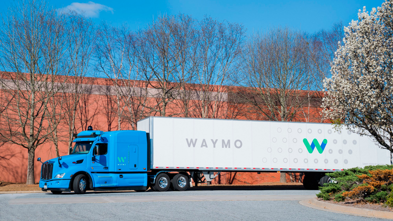 Waymo's self-driving trucks are carrying cargo for ... Google