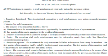 New Hampshire House Bill 1663