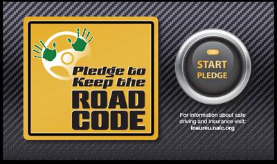 NAIC Keep the Road Code Pledge