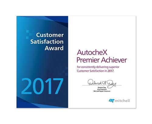 AutocheX 2018 Award