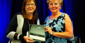 Beverly Rook-Twibell Receives 2018 WIN Cornerstone Award