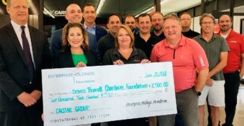 CARSTAR St. Louis Business Group and Enterprise Rent-A-Car Exclusive Partner to Support Cystic Fibrosis Research