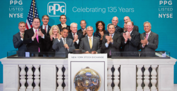 PPG Marks 135th Anniversary with NYSE Closing Bell Ceremony