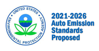 U.S. EPA and DOT Propose to Hold Model Year 2021-2026 Vehicle Emissions at 2020 Levels