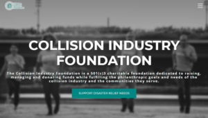 Collision Industry Foundation website