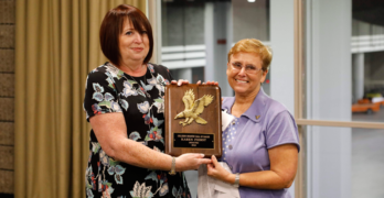 Hall of Eagles Inducts Karen Fierst and Gary Wano